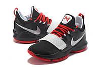 Мужские баскетбольные кроссовки Nike Zoom PG 1 (Black/Red/White), фото 1