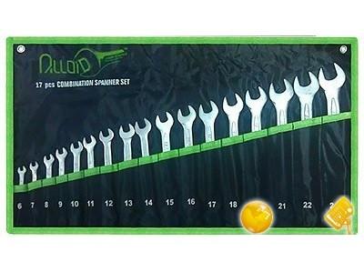 Набор ключей комбинированных Alloid 17 шт, 6-24 мм НК-2061-17