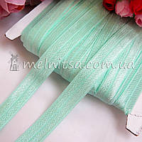 Резинка для повязок (эластичная бейка), 1,5 см, тиффани