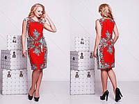 женское летнее платье Польша больших размеров