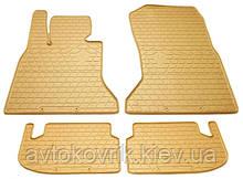 Резиновые коврики в салон BMW 5 (F11) 2014- (STINGRAY)