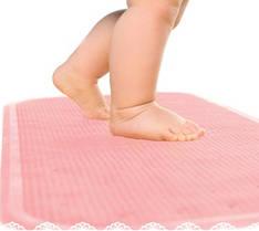 Антискользящий коврик XL Kinderenok розовый