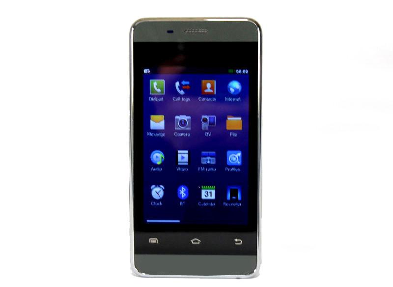 """Мобильный телефон 802 3.5"""" Black емкостный экран - Free-Shipping в Одессе"""