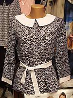 Красивая блузка девочке подростку