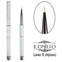 Кисть Komilfo Liner 5 (Nylon)