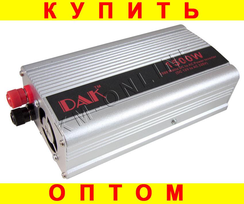 Преобразователь напряжения 12v 1500Watts + ПОДАРОК: Держатель для телефонa L-301