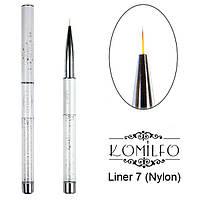 Кисть Komilfo Liner 7 (Nylon)