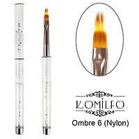 Кисть Komilfo Ombre 6 (Nylon)
