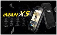 IMAN X5 Защищенный смартфон от всего  ip67 1/8gb