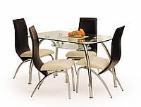 Стол стеклянный CORWIN BIS Halmar 125*75