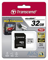 Карта памяти Transcend microSDHC 32GB Class 10 High Endurance (TS32GUSDHC10V)