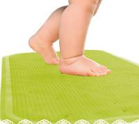 Антискользящий коврик XL Kinderenok салатовый, фото 1