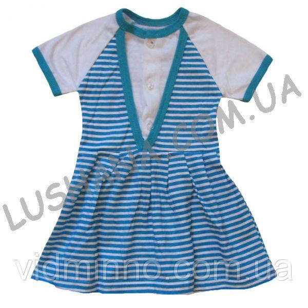 Платье Женечка на рост 80-86 см - Кулир