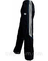 Мужские спортивные брюки, штаны Adidas из плащевки на х/б подкладке, мужская одежда Бердянск