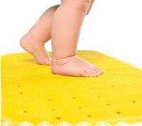 Антискользящий коврик XL Kinderenok желтый, фото 1