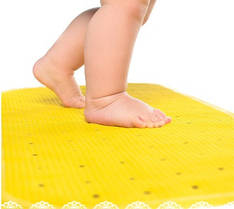 Антискользящий коврик XL Kinderenok желтый