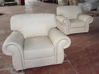 Кожаный мягкий диван БУХАРЕСТ-301 кресло