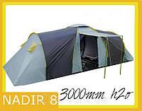 Палатка Presto Nadir 8 клеенные швы тамбур