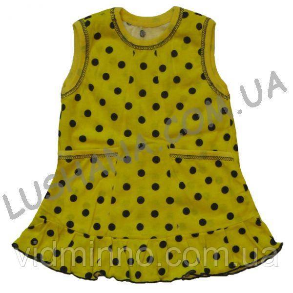Платье Катюша на рост 68-74 см - Кулир