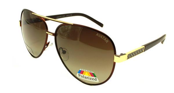 Большие солнцезащитные очки авиаторы стиль Avatar Polaroid - Оригинальные  подарки в интернет-магазине Панда- 9b82ead15ae