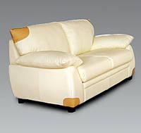 Кожаный мягкий диван и кресла Загреб 2 местный (166*91*90)