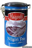 "Чай ""MAGRETT"" черный индийский ""NILGIRI"", СТС жестяная банка 200 гр"