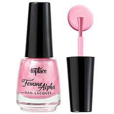 TopFace Лак для ногтей Alpha Femme PT-103 Тон 008 пастельно розовый перламутр