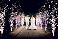 Холодный фонтан на свадьбу Maxsem, 3 м. 30 с, есть 100+ шт. НОВЫЙ! Скидка!