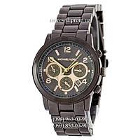Michael Kors MK5055 All Black-Gold
