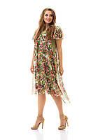 Легкое шифоновое платье Индивидуальный пошив