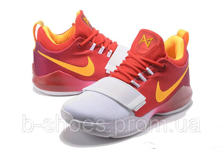 2b780d46 Мужские баскетбольные кроссовки Nike Zoom PG 1 (Hickory) - B-SHOES в Киеве