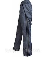 Мужские спортивные штаны Adidas из плащевки без подкладки, подростковая одежда Днепропетровск