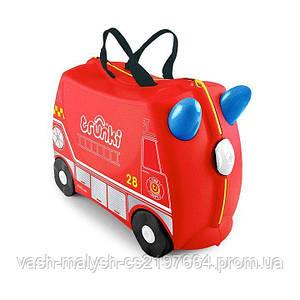 Детский чемодан Trunki Frank Fire Truck