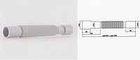 Гибкая труба 40 *40/50 АНИ пласт длина 800