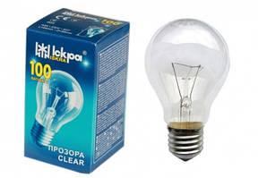 ИСКРА А55 (100 Вт) Лампа накаливания в индивидуальной упаковке