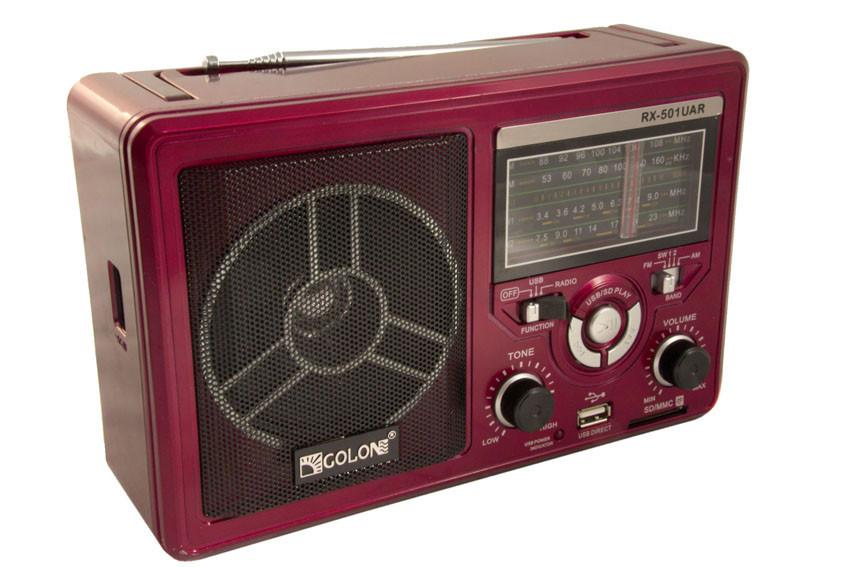 Радиоприёмник всеволновой c Mp3 Golon RX-501UAR