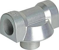 Адаптер алюминиевый для фильтров CIMTEK серии 400 впускное отверстие 1', проток — до 120 л/мин