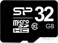 Карта памяти Silicon Power microSDHC 32GB Class 10 (без адаптера) (SP032GBSTH011V10)