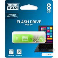 Флешка GooDRam 8GB Standart Fresh Mint Flavour USB 2.0 (UFR2-0080G0R11) Зеленый