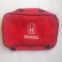 Сумка техпомощи с логотипом  Honda красная 2 отделения Beltex