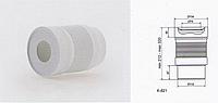 Гофра для унитаза D 110 мм длина 320мм