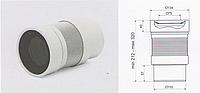 Гофра армированная D 110 длина 320 мм