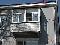 Балкон Пластиковый под ключ