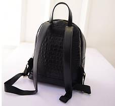 Стильный рюкзак под крокодил, фото 2
