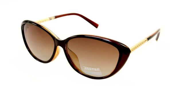 Модные солнцезащитные очки лисички тренд 2017 Avatar Polaroid