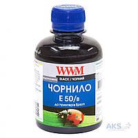 Чернила WWM EPSON STYLUS PHOTO R200/R340/RX620 1000Г BLACK WATER-SOLUBLE (E50/B-4)
