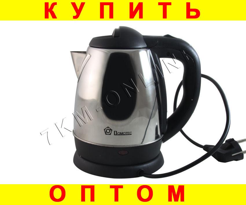 Дисковый Электро чайник Domotec DT822 + ПОДАРОК: Держатель для телефонa L-301