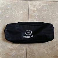 Сумка техпомощи с логотипом  Mazda черная 2 отделения Beltex, фото 1