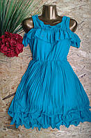 Платье Плиссе 805 волна 42-46р