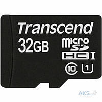 Карта памяти Transcend MicroSDHC 32GB Class10 UHS-1 (card only)